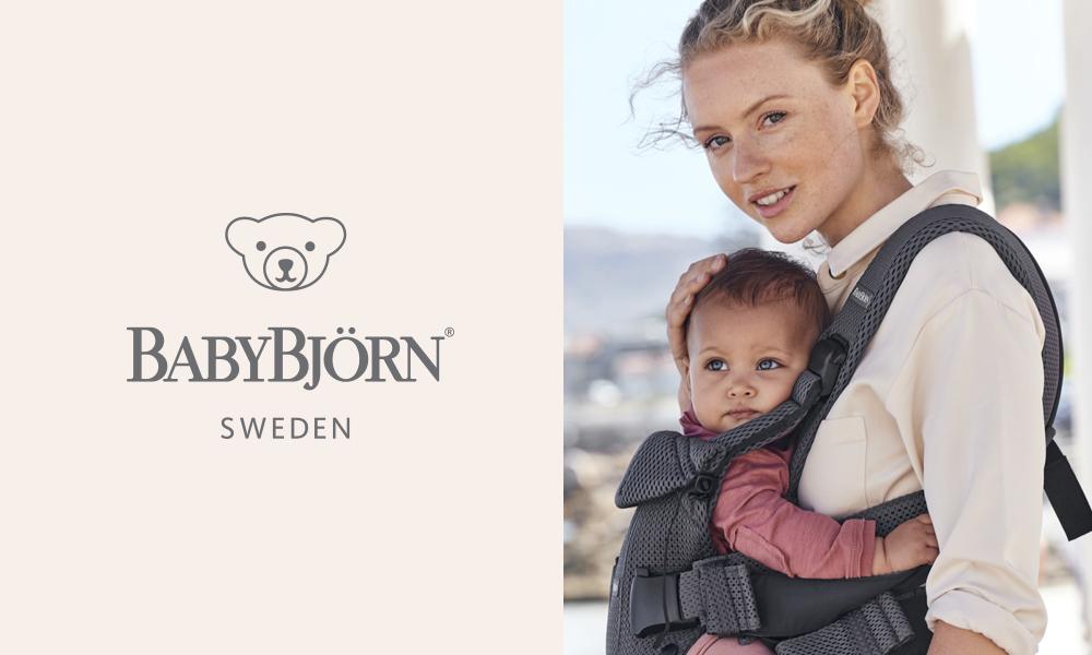 Die Babytrage von Babybjörn