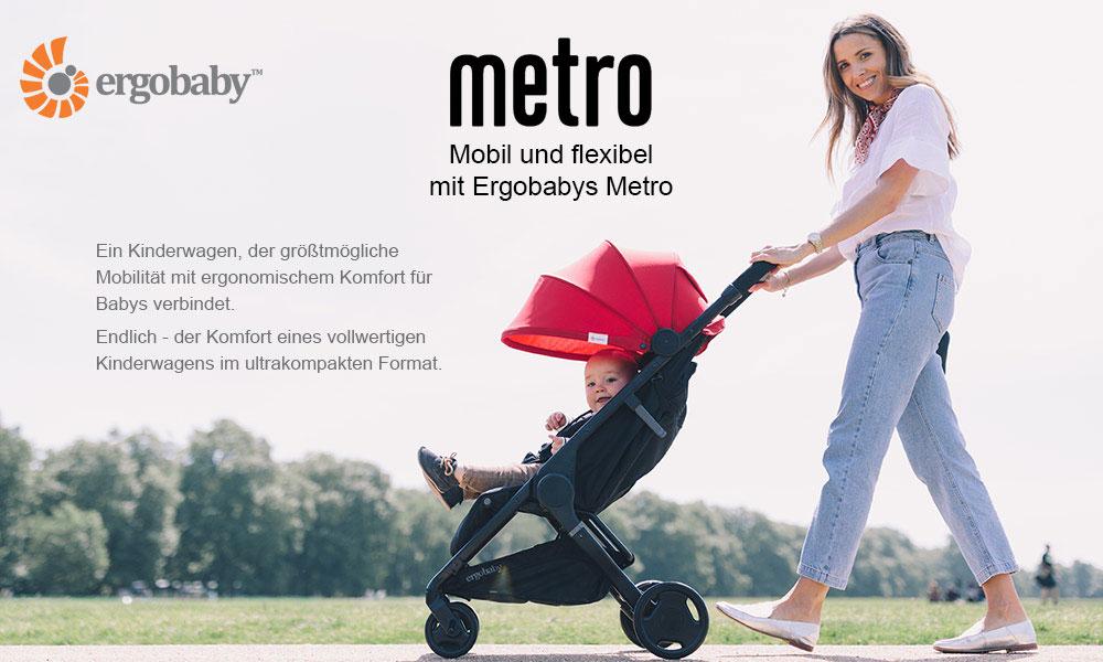 Der Metro Compact City Stroller von Ergobaby