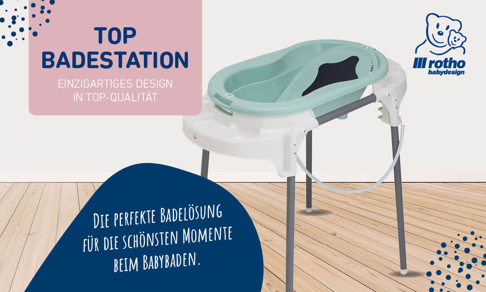 Die Badestation TOP von Rotho Babydesign
