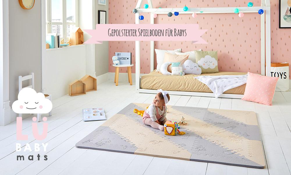 Der Teppich Puzzle von Lü Babymats