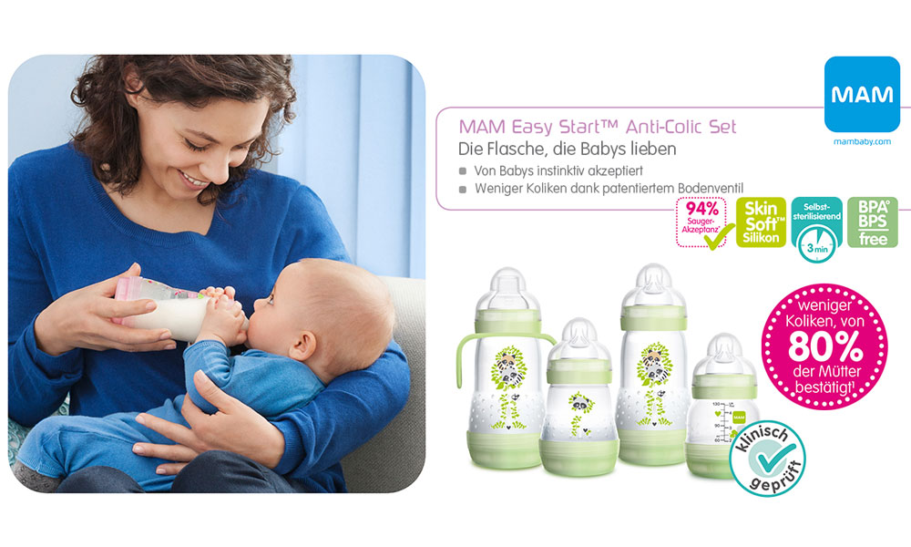 Das Easy Start Anti-Colic Set von MAM