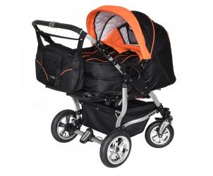 Zwillingskinderwagen Duo Spezial mit Babyschale