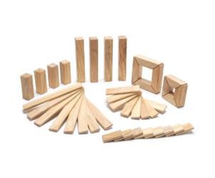 Magnetische Holzbausteine