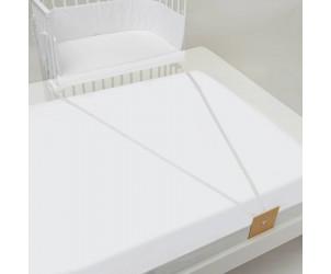 Babybay beistellbett comfort mit rollensatz für stubenwagen weiß