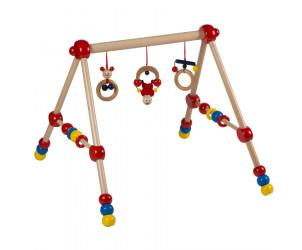Baby Holz-Gym, höhenverstellbar