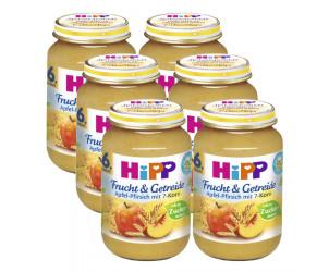 Apfel-Pfirsich mit 7-Korn