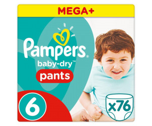 Windeln Baby Dry Pants Extra Large Gr. 6 (16+ kg)
