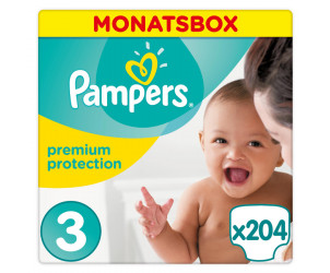 pampers windeln premium protection gr 3 5 9 kg elternbewertungen. Black Bedroom Furniture Sets. Home Design Ideas