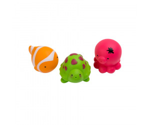 Badespielzeug Spritztier-Set