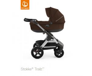 Babyschale-Kinderwagen Trailz mit Geländerädern