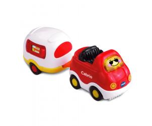Tut Tut Baby Flitzer - Cabrio & Wohnwagen