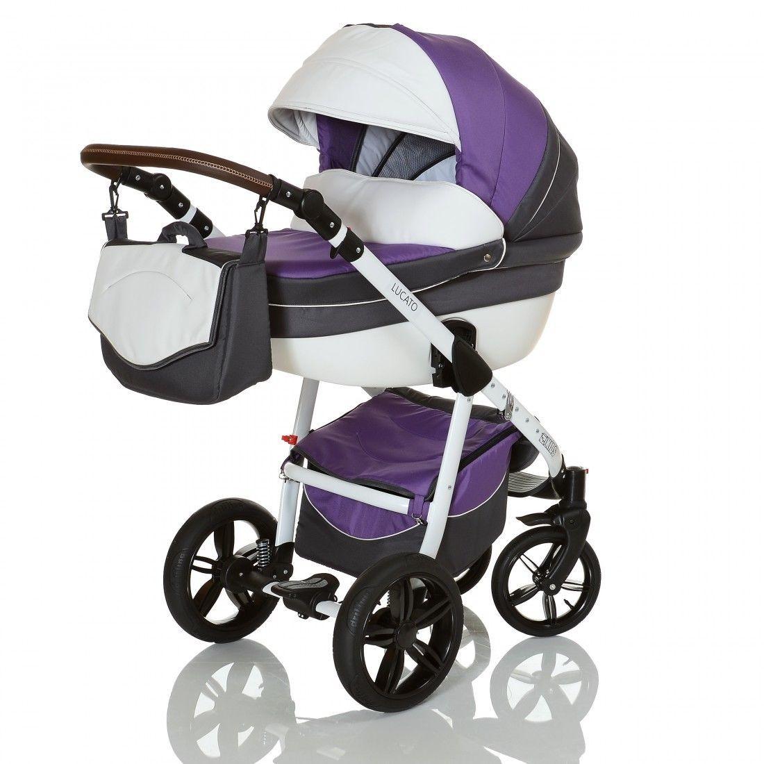 lcp kids 3in1 kombikinderwagen set mit babyschale