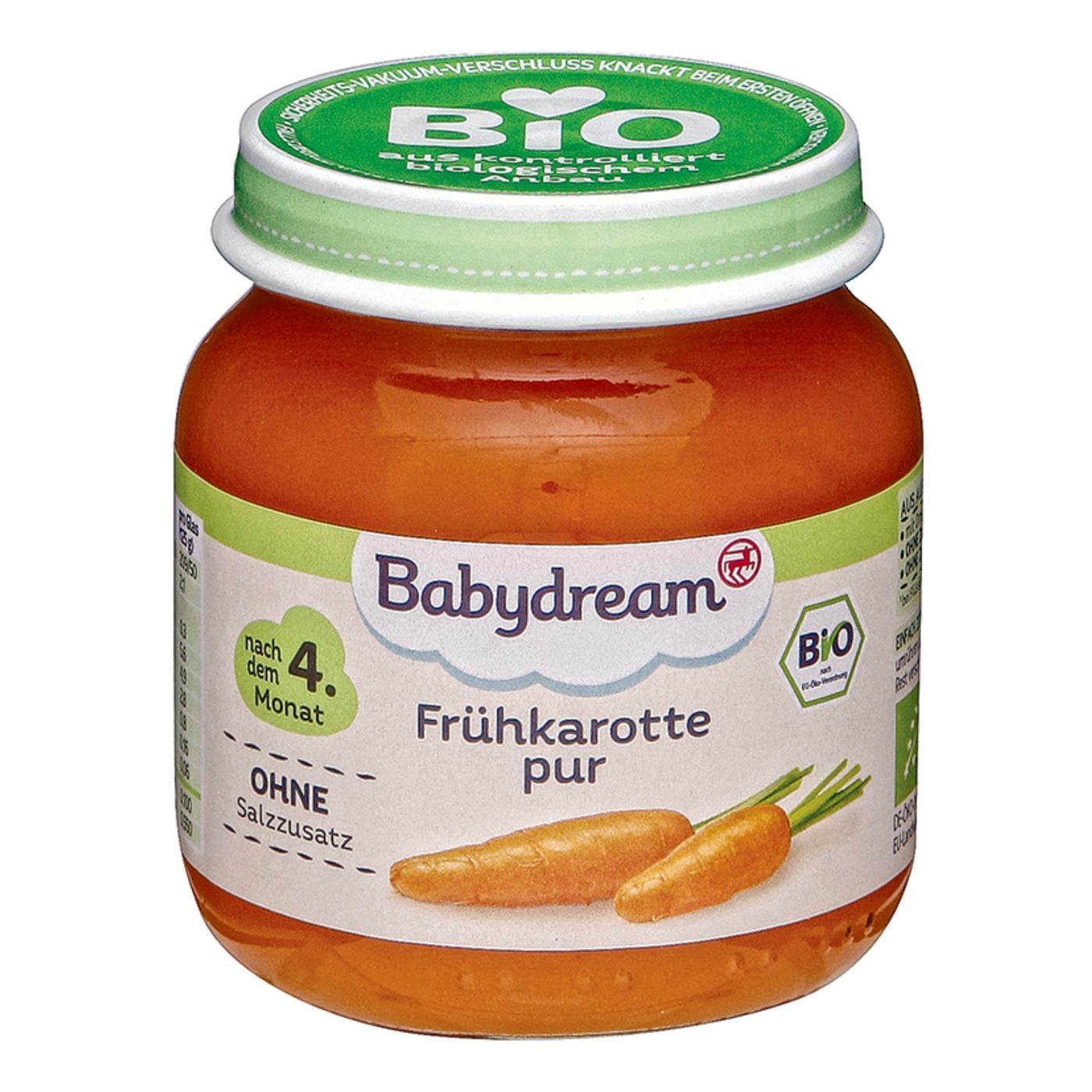 9d59493443e7b6 Babydream Bio Frühkarotte pur   Elternbewertungen
