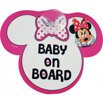 Autoschild Minnie Maus