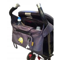 Kinderwagen Buggy Organizer mit abnehmbare Geldbörse
