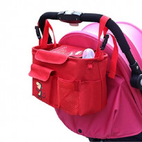Kinderwagen Organizer mit abnehmbarem Schultergurt