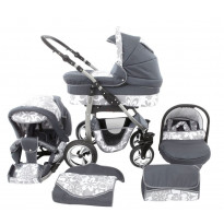 Kinderwagen Set Dino 3 in 1