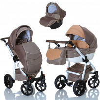 3in1 Kombikinderwagen Set mit Babyschale