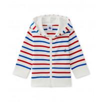 Sweatshirt mit Kapuze - Streifen