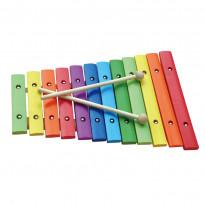 Xylophon 12 Töne Holz