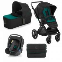Kombikinderwagen Muum inklusive Babyschale Koos und Tragewanne Micro