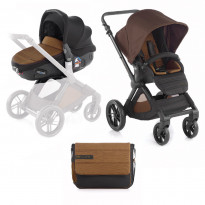 Kombikinderwagen Muum inklusive Babyschale Matrix Light 2