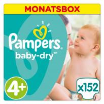 Windeln Baby Dry Gr. 4+ (9-18 kg)